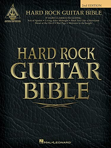 9780634022975: Hard Rock Guitar Bible