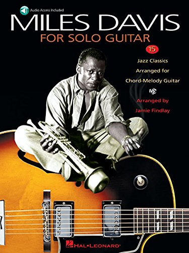 9780634023026: Miles Davis for Solo Guitar