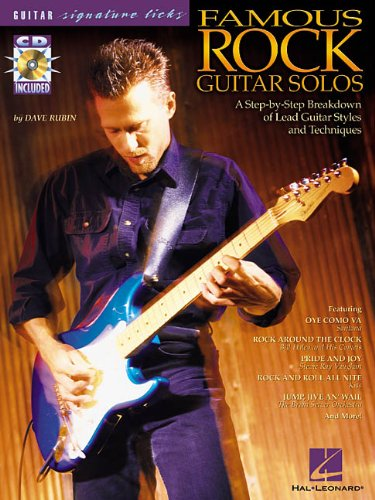 9780634023392: Famous Rock Guitar Solos: A Step-by-Step Breakdown of Lead Guitar Styles and Techniques (Guitar Signature Licks)