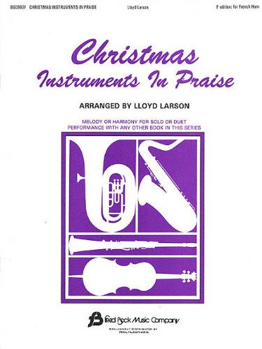 9780634023712: Christmas Instruments in Praise F Edition