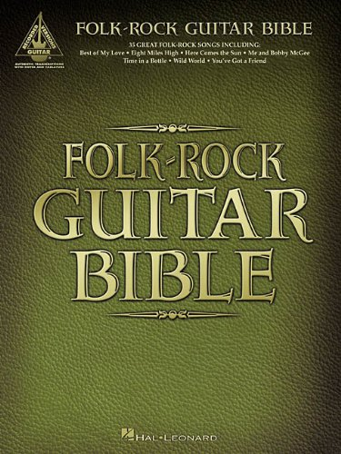 9780634023774: Folk-Rock Guitar Bible