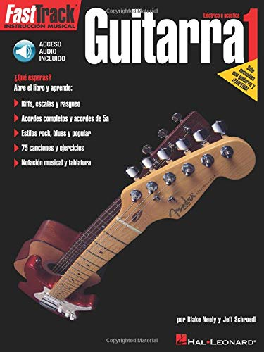 9780634023804: Fasttrack Guitar Method - Spanish Edition - Level 1: Fasttrack Guitarra 1