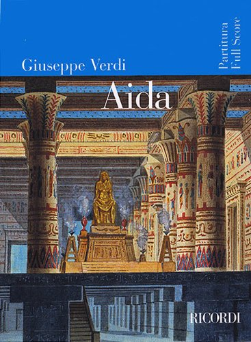 9780634023842: Aida: Full Score (Ricordi Opera Full Scores)