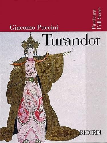 9780634023859: Turandot: Dramma Lirico in Tre Atti E Cinque Quadri