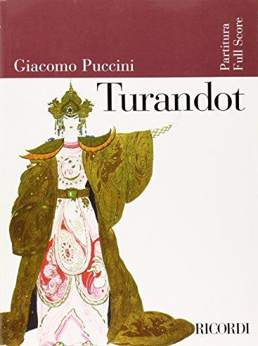 9780634023859: Turandot: Full Score (Ricordi Opera Full Scores)