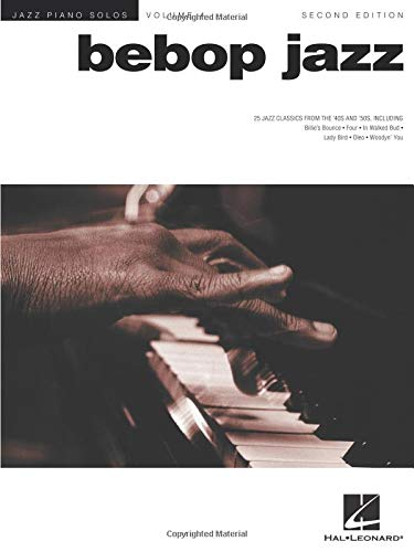 9780634025549: Bebop Jazz: Piano Solo