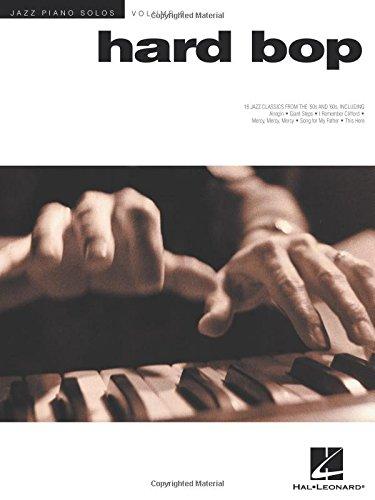 9780634025563: Hard Bop: Jazz Piano Solos Series Volume 6