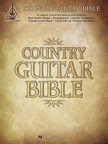 9780634025594: Country Guitar Bible