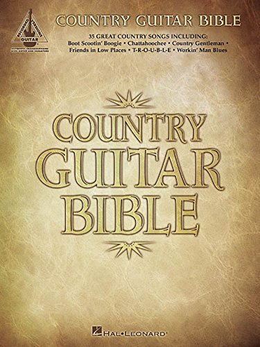 9780634025594: COUNTRY GUITAR BIBLE