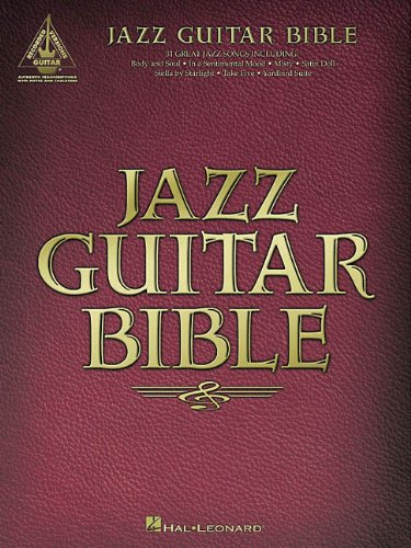 9780634025624: Jazz Guitar Bible (Guitar Recorded Versions)