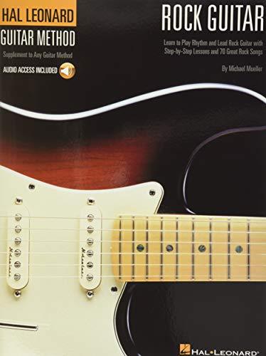 9780634025662: Hal Leonard Rock Guitar Method: Book/CD Pack (Hal Leonard Guitar Method (Songbooks))