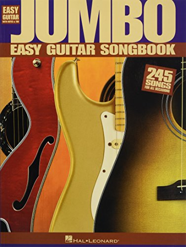 9780634025679: Jumbo Easy Guitar Songbook (Easy Guitar with Notes & Tab)