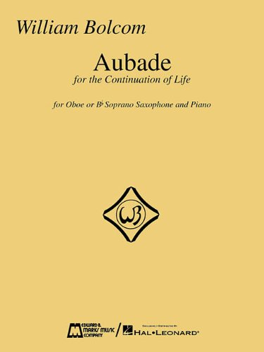 9780634025693: AUBADE FOR OBOE OR B-FLAT SOPRANO SAXOPHONE WITH PIANO
