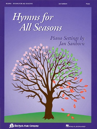 HYMNS FOR ALL SEASONS (9780634025723) by Jan Sanborn
