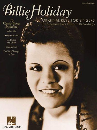 9780634025877: Billie Holiday - Original Keys for Singers: Transcribed from Historic Recordings