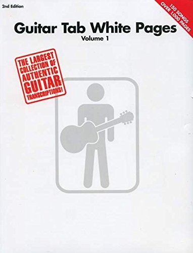 9780634026119: Guitar Tab White Pages: 1