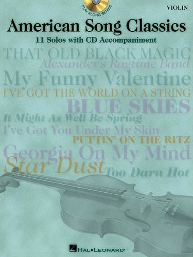 9780634026362: American Song Classics: 11 Solos with CD Accompaniment (Violin)