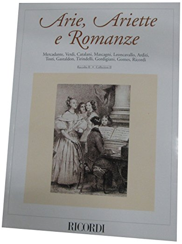 Arie, Ariette e Romanze - Volume 2: Hal Leonard Corp.