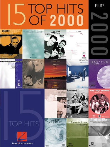 9780634026805: 15 Top Hits of 2000: Flute