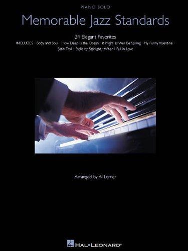 9780634027734: Memorable Jazz Standards (Piano Solo Songbook)