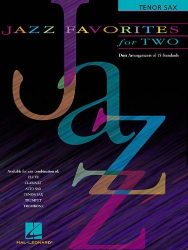 9780634028205: JAZZ FAVORITES FOR TWO TENOR SAX