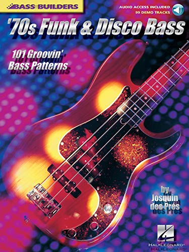 9780634028564: Bass builders 70s funk and disco bass guitare basse+CD