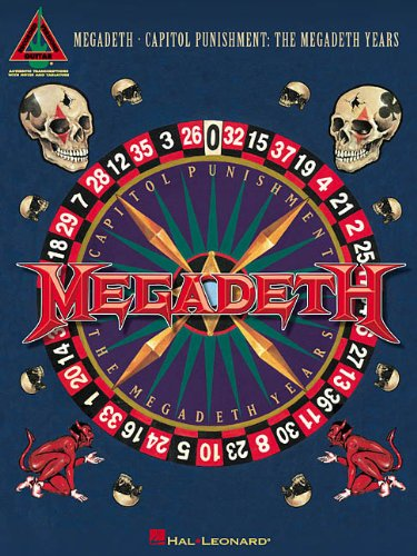 9780634028632: Megadeth - Capitol Punishment: The Megadeth Years (Guitar Recorded Versions)