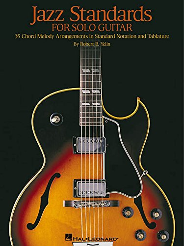 9780634028786: Jazz Standards for solo guitar