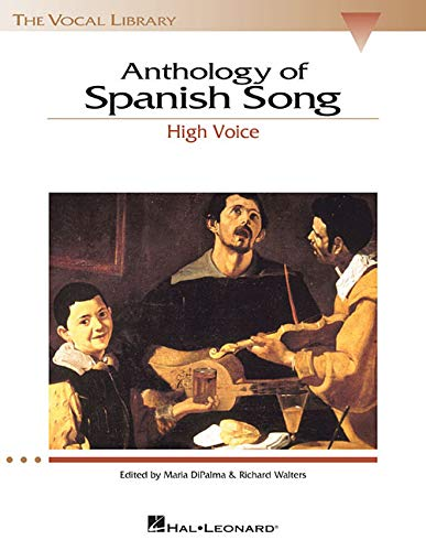 9780634029226: Anthology of Spanish Song - High Voice (The Vocal Library Series) (English and Spanish Edition)