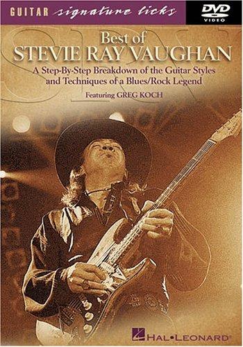 9780634029233: Best of Stevie Ray Vaughan Signature Licks Guitar DVD