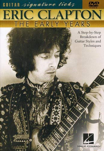 9780634029356: Hal Leonard Eric Clapton - The Early Years (DVD)