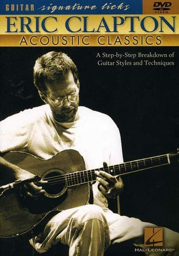 9780634029363: Hal Leonard Eric Clapton - Acoustic Classics (DVD)