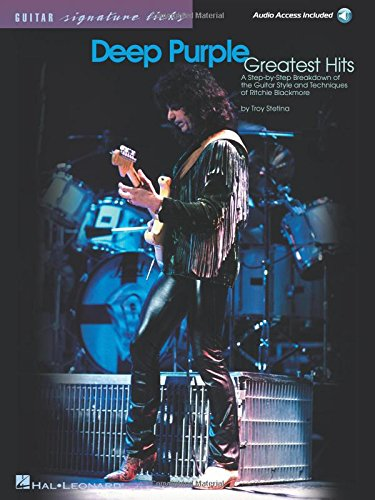 9780634029424: Deep Purple - Greatest Hits: A Step-by-Step Breakdown of the Guitar Style and Techniques of Ritchie Blackmore (Guitar Signature Licks with Audio Online)