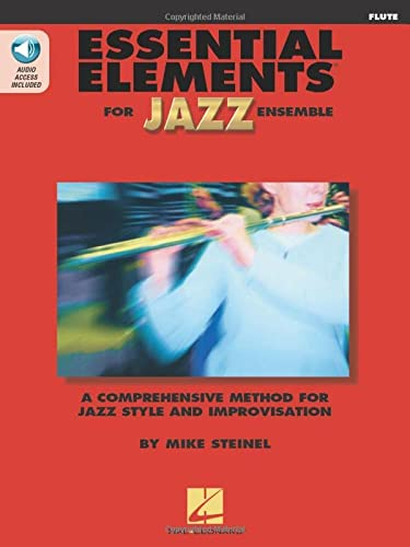 9780634029851: Essential Elements For Jazz Flute Bk/2CDs