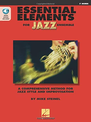 9780634029875: Essential Elements For Jazz French Horn Bk with online media