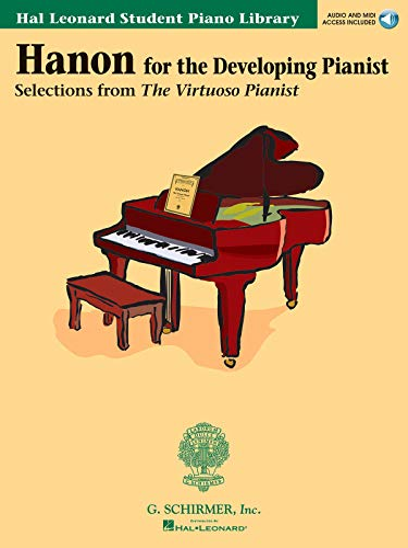 9780634029929: Hanon for the Developing Pianist: Hal Leonard Student Piano Library (Technique Classics) Book & Online Audio