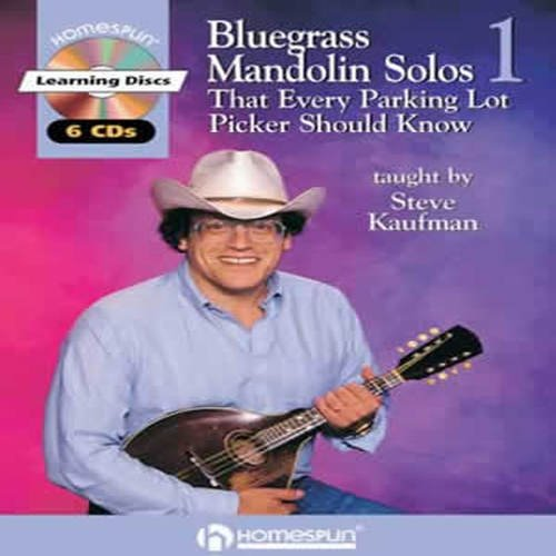 9780634030062: BLUEGRASS MANDOLIN SOLOS THAT EVERY PARKING LOT PICKER SHOULD KNOW 6 CDS