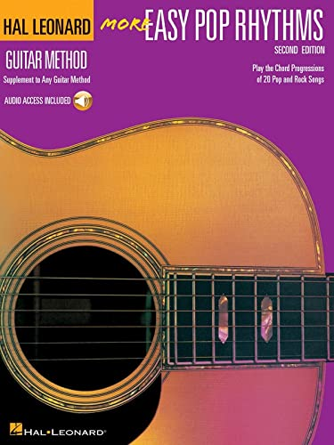 9780634030499: More Easy Pop Rhythms: Correlates with Book 2 (Hal Leonard Guitar Method) Bk/Online Audio