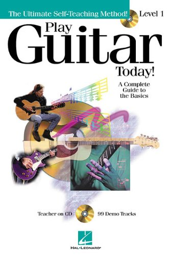 9780634030529: Play Guitar Today with CD: Level 1 (The Ultimate Self-Teaching Method)
