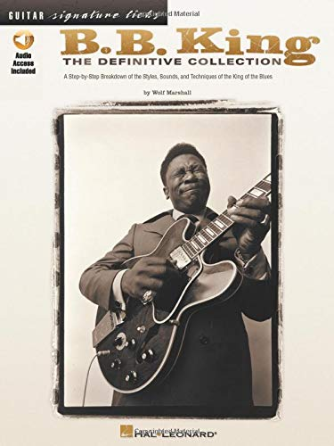 9780634030574: B. B. King: The Definitive Collection (Guitar Signature Licks)