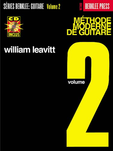 9780634030642: FRENCH MODERN METHOD FOR GUITAR 2 BK/CD
