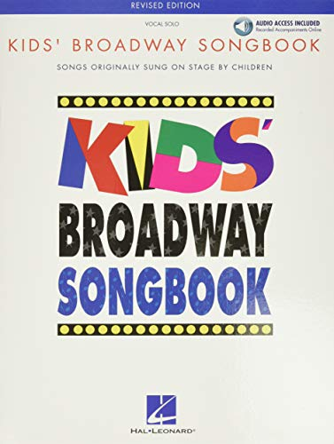 9780634030659: Kids' Broadway Songbook (Book/Online Audio) (Vocal Collection)