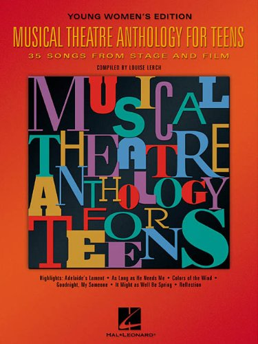 9780634030741: Musical Theatre Anthology for Teens: Young Women's Edition (Vocal Collection)