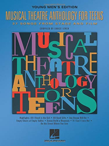 9780634030758: Musical Theatre Anthology for Teens: Young Men's Edition