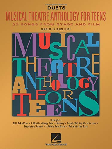 9780634030765: Musical Theatre Anthology for Teens: Duets Edition