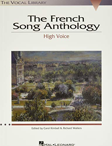 9780634030796: French Song Anthology: The Vocal Library, High Voice