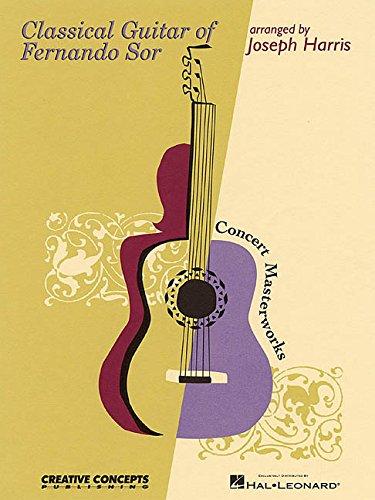 9780634030826: Classical Guitar of Fernando Sor