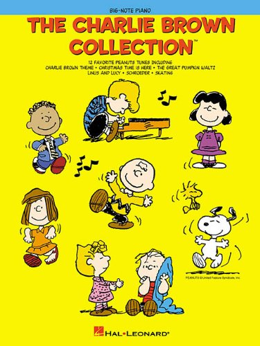9780634030970: The Charlie Brown Collection: Big Note Piano