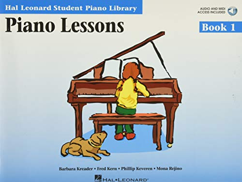 9780634031182: Piano Lessons Book 1 - Book/Enhanced CD Pack: Hal Leonard Student Piano Library