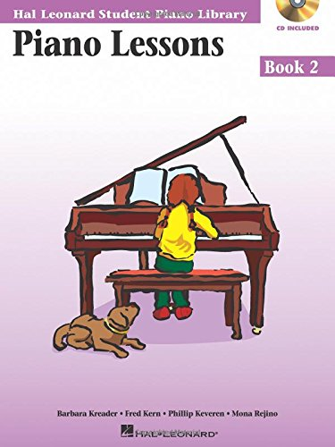 9780634031199: Piano Lessons Book 2 - Book/Enhanced CD Pack: Hal Leonard Student Piano Library